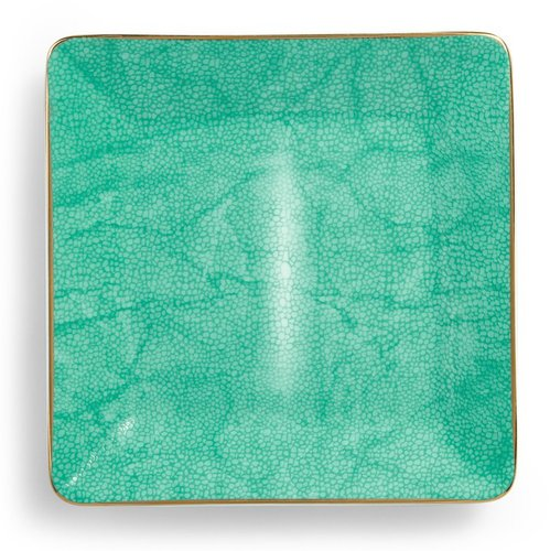 Shagreen Textured Ceramic Plate