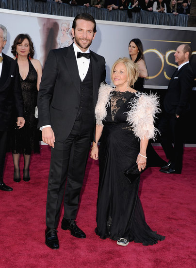 Bradley Cooper and Gloria Cooper