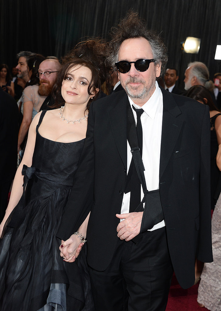 Helena Bonham Carter and Tim Burton