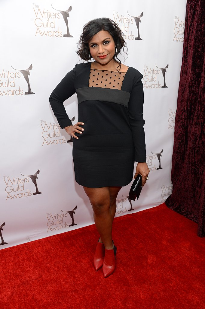 Mindy Kaling looked beautiful on the red carpet.