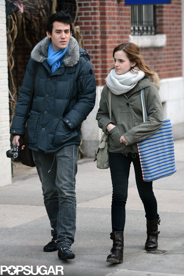 Emma Watson Shares Post-Valentine's Day PDA With Boyfriend Will Adamowicz