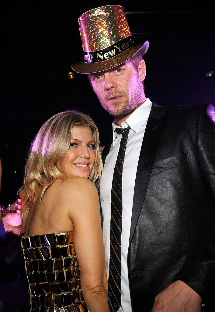 Fergie and Josh Duhamel hosted a 2012 New Year's party in Las Vegas.