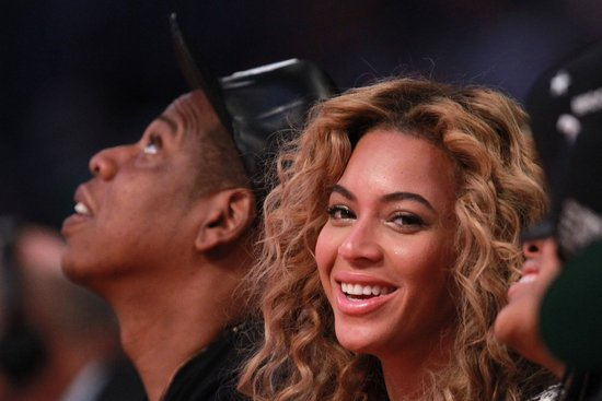 Beyoncé Knowles and Jay-Z were in Houston to attend the NBA All-Star Game.