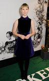 Mia Wasikowska attended a special screening of Stoker.
