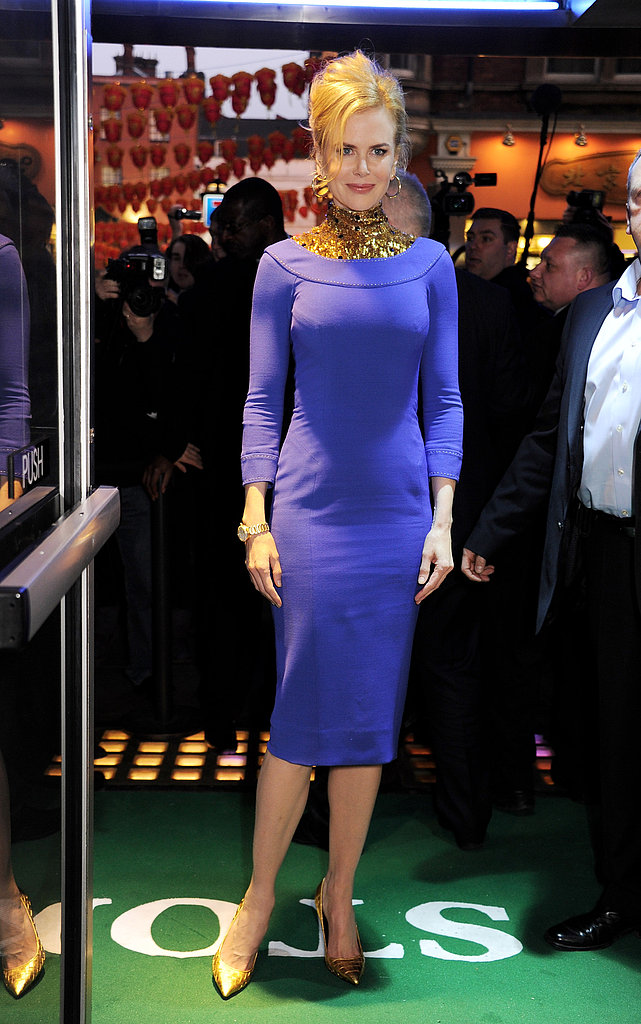 Nicole Kidman attended a London premiere.