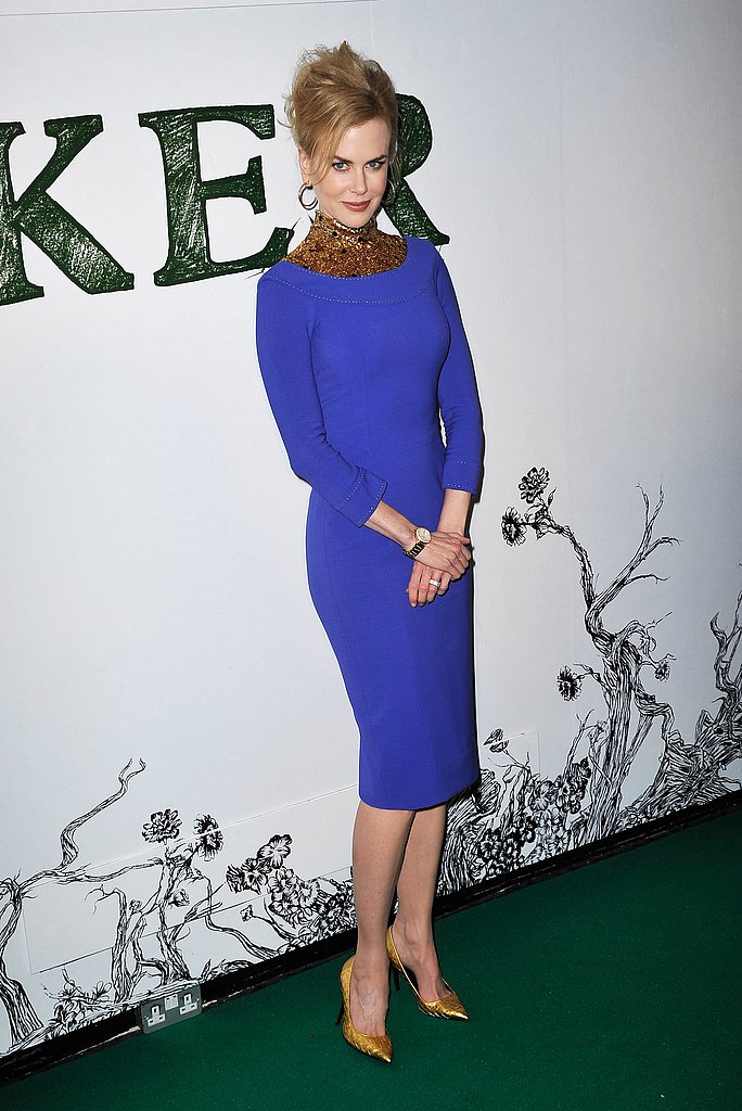 Nicole Kidman wore L'Wren Scott to a London Stoker screening.