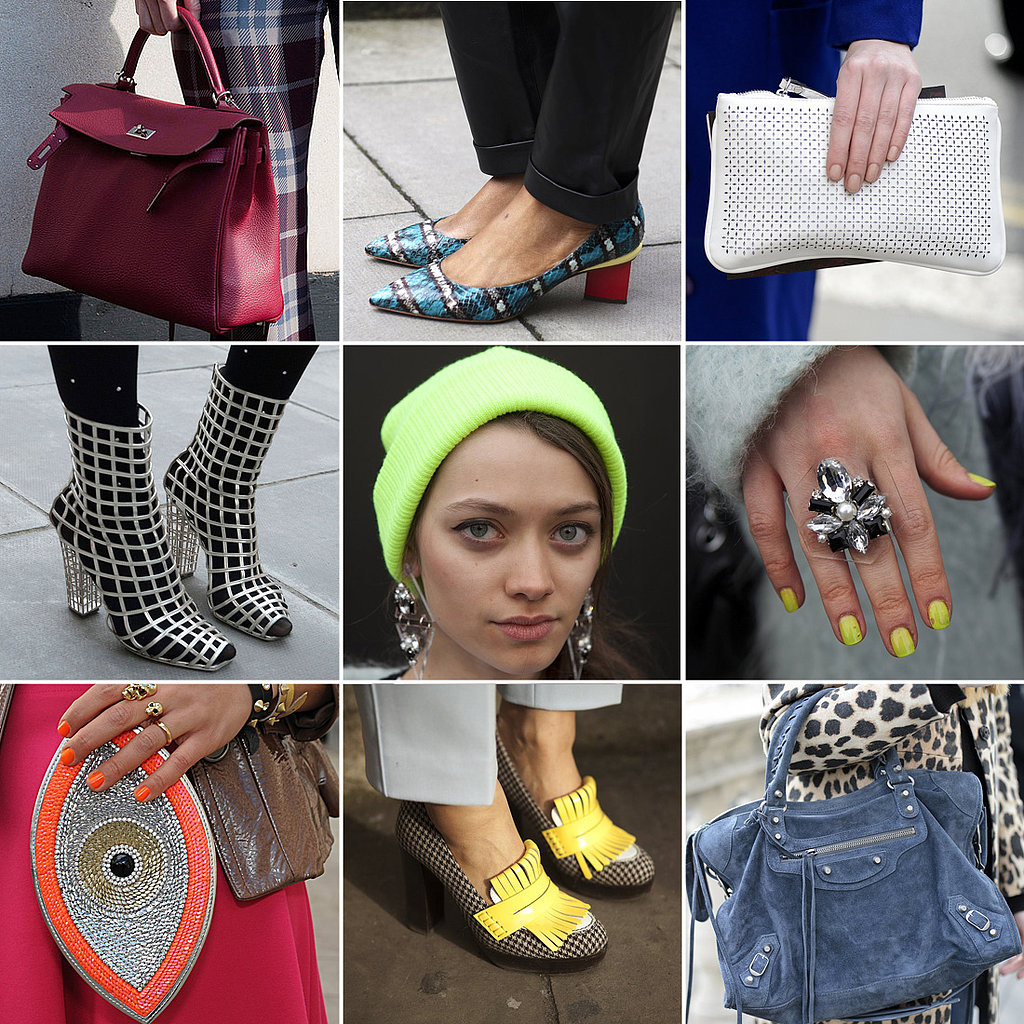 Street Scene — Over 85 of the Best London Fashion Week Accessories