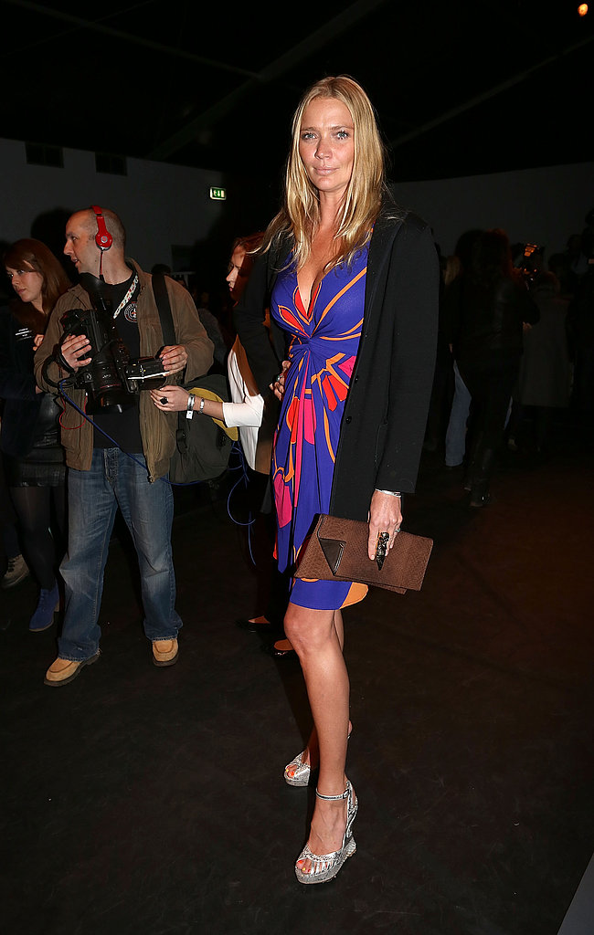 Jodie Kidd at Issa London