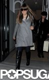 Jessica Biel wore Christian Louboutin boots.