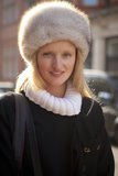 A fur cossack hat made for the perfect cozy statement piece.