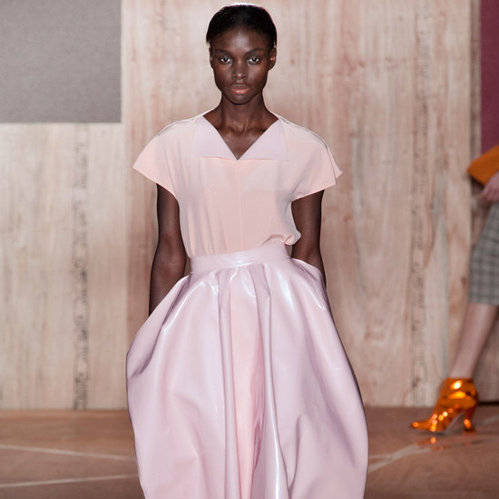 Pretty Pink Hues Take Over Roksanda Ilincic's Fall 2013 Runway