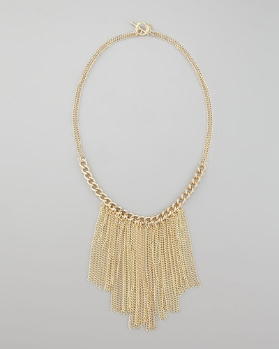 Jules Smith Rockstar Fringe Necklace