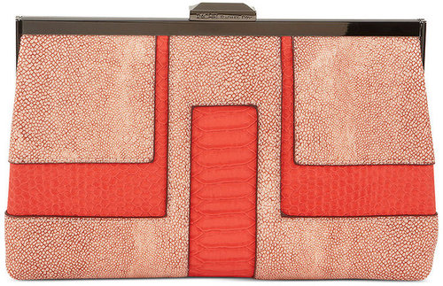 RACHEL Rachel Roy Handbag, Deco Frame Clutch