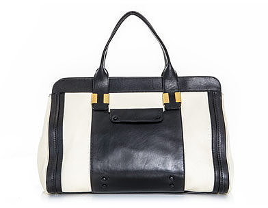 Chloe Alice bi-colour bag
