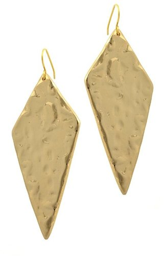 Belle Noel By Kim Kardashian Molten Diamond Shaped Earrings