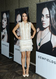 MIla Kunis was announced the face of Gemfields jewellery in LA.