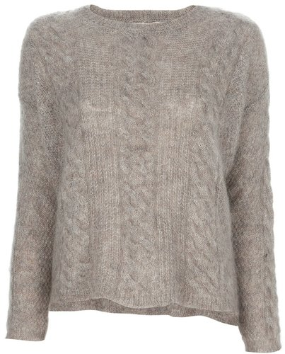 8Pm cable knit jumper