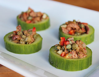Cucumber Cups With Tapenade Recipe