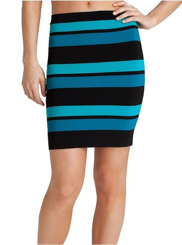 Butterfly Stripe Skirt
