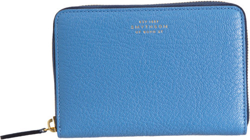 Smythson Chameleon Medium Zip Around Wallet
