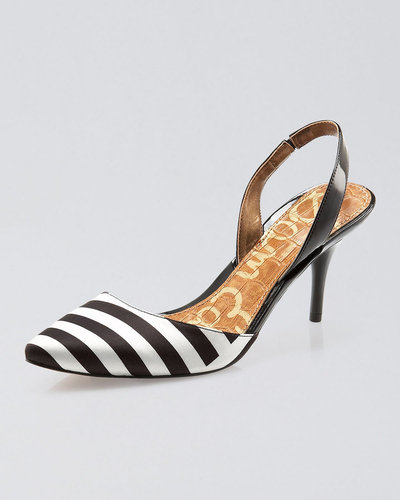 Sam Edelman Orly Striped Slingback Pump