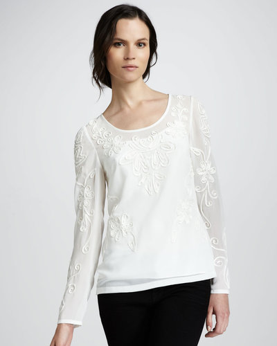 Alice by Temperley Bettie Embroidered Top