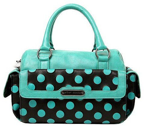 Betsey Johnson - Teal Spot On Satchel