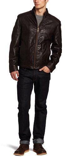Marc New York by Andrew Marc Men&#039;s Cruz Soft Leather Open Bottom Jacket