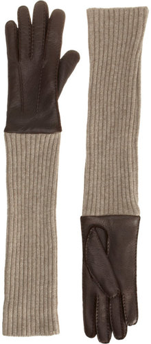 Barneys New York Deerskin Glove
