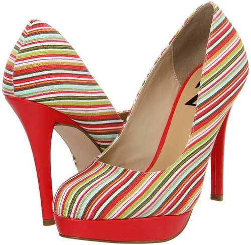 Type Z - Colbie Stripe (Red) - Footwear