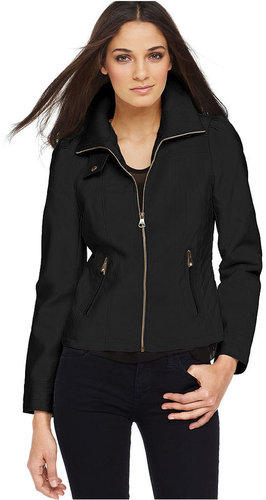 Steve Madden Jacket, Faux-Leather Motorcycle