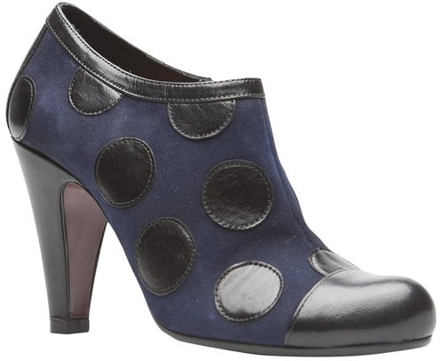 Chie Mihara Polka dot bootie