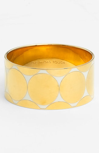 Kate Spade New York &#039;idiom&#039; Wide Bangle