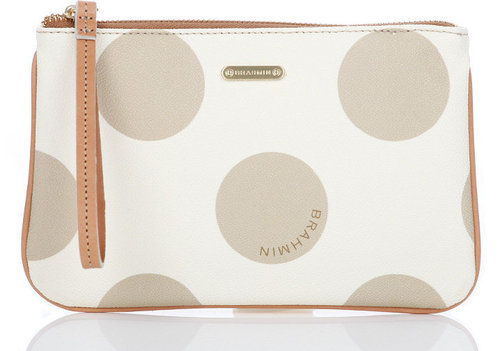 Brahmin Sally Polka Dot Pouch