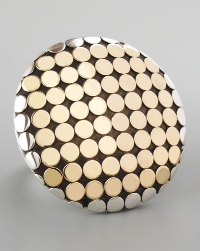 John Hardy Mixed Metal Dot Ring