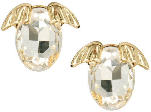 ASOS Puppy Crystal Stud Earrings