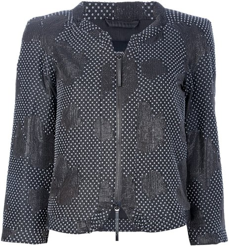 Giorgio Armani polka-dot jacket