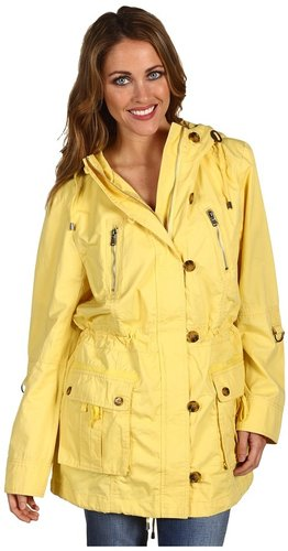 Marc New York by Andrew Marc - Skylar Washed Cotton Parka (Citron) - Apparel