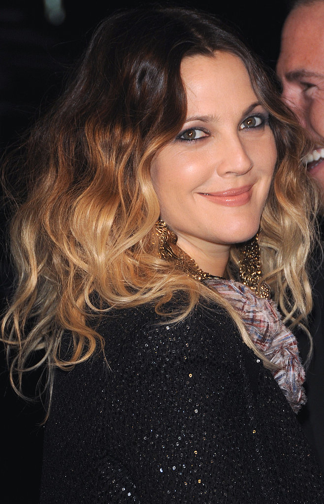 Her ombré got a touch more severe at a pre-Oscar dinner in 2011.