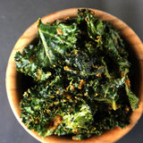 Cheesy Kale Chips