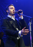 Justin Timberlake performed at The Forum in London following the Brit Awards.