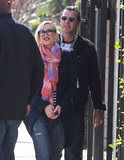 Gwen Stefani and Gavin Rossdale stepped out in stripes.