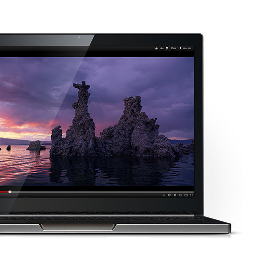 In addition to all the hardware stuff, the Chromebook Pixel comes with 1TB of Google Drive Cloud Storage for three years and 12 free sessions of GoGo Inflight Internet.
