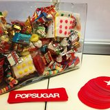 The candy jar loot at our POPSUGAR LIVE! party.