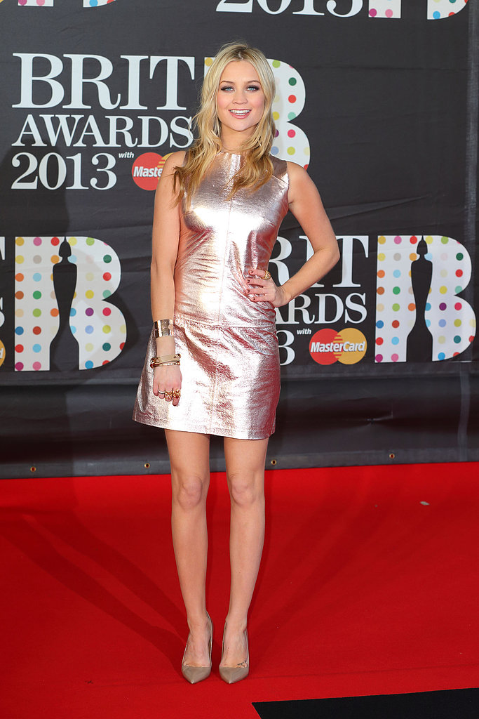 Laura Whitmore in Zoe Jordan and Kurt Geiger