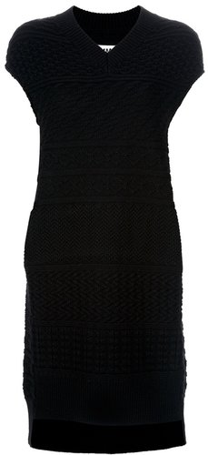 Mm6 By Maison Martin Margiela sleeveless knit dress