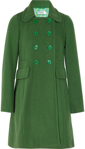 Sonia by Sonia Rykiel Double-breasted wool-blend coat