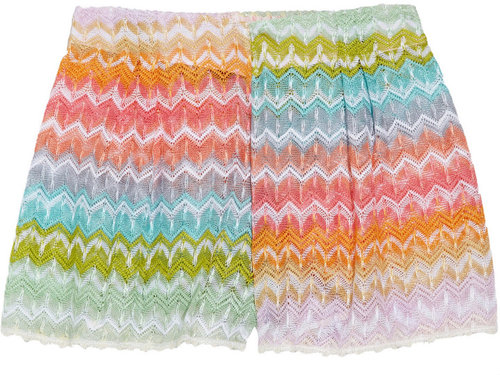 Missoni Camogli crochet-knit culottes