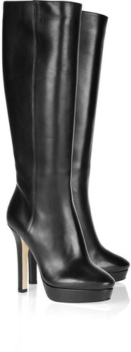 Jimmy Choo Mirage leather knee boots