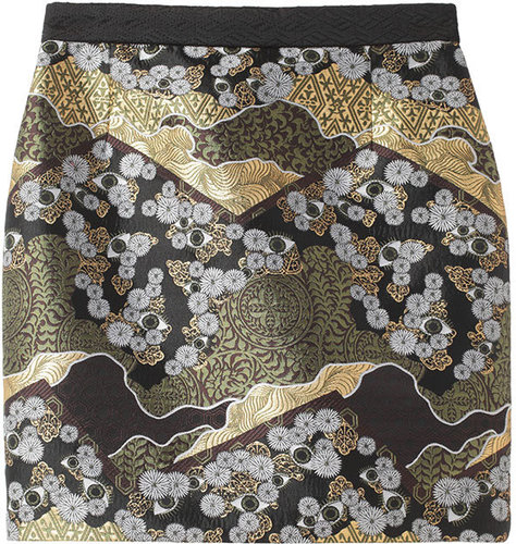 Proenza Schouler / Brocade Mini skirt